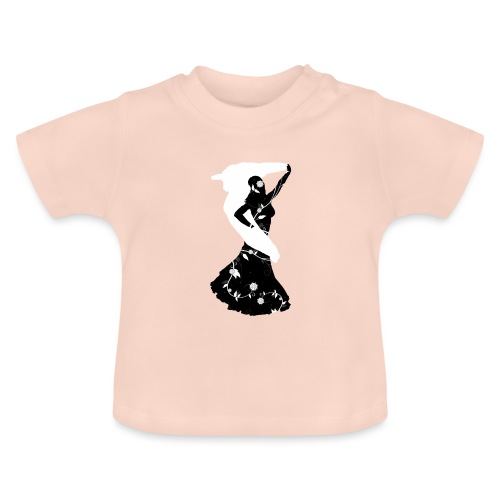 Bellydancer with veil - Baby T-Shirt
