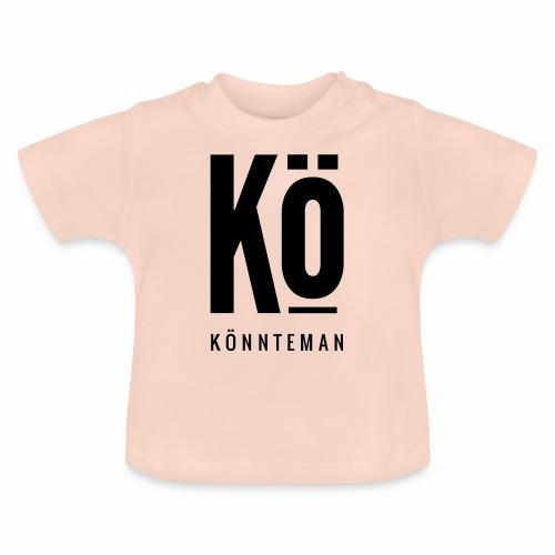 Das Kö Shirt in Schwarzem Print - Baby T-Shirt