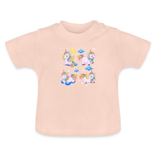 Enhörningar - Baby-T-shirt