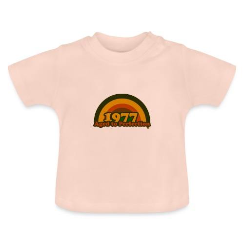1977 aged to perfection cpr 70tees - Baby T-Shirt