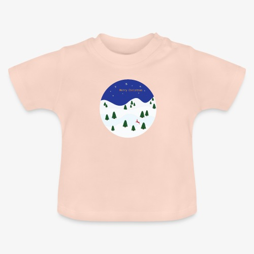 boule Noël bleue - Baby T-Shirt