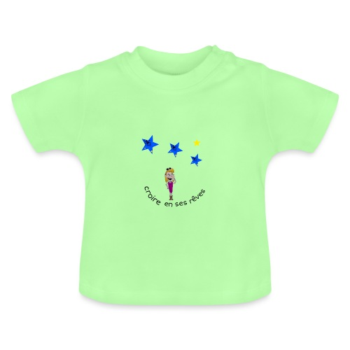 La tête dans les étoiles - T-shirt Bébé