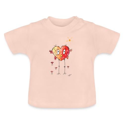 Happy heart - Baby T-Shirt