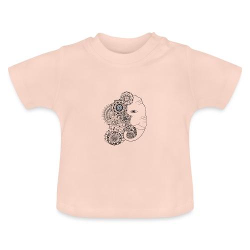 Mandala de Elefante - Camiseta bebé