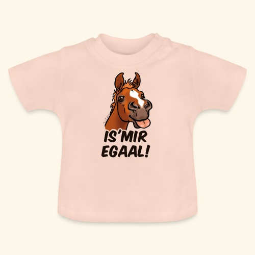 Fohlen Is Mir Egaal! (schwartzer Text) - T-shirt Bébé