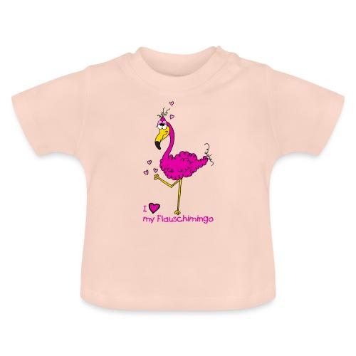 I love my Flauschimingo - Baby T-Shirt