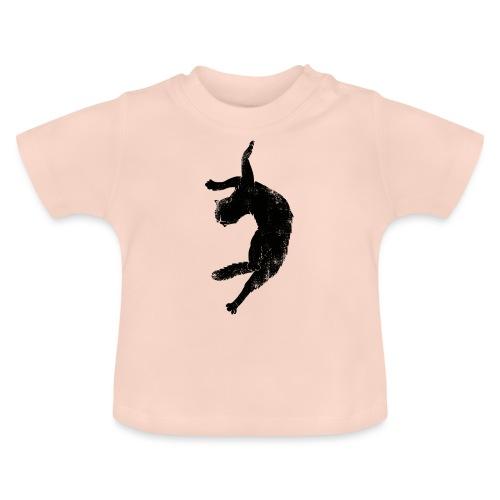 Flying cat - Baby-T-shirt
