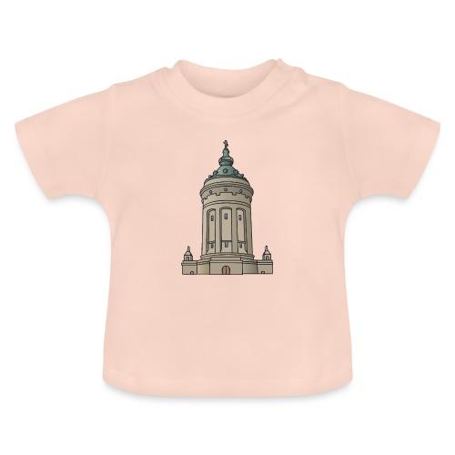 Wasserturm Mannheim c - Baby T-Shirt