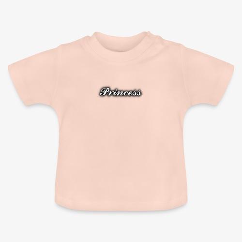 Kinder und Babykleidung mit Princess Aufdruck - Baby T-Shirt