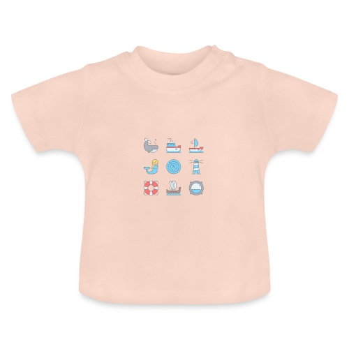 marine - T-shirt Bébé