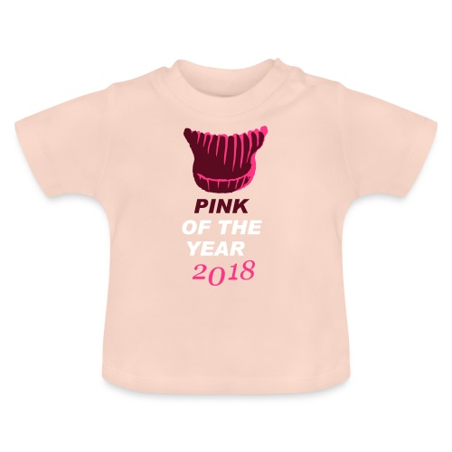 pink of the year 2018 pussyhat - Baby T-Shirt