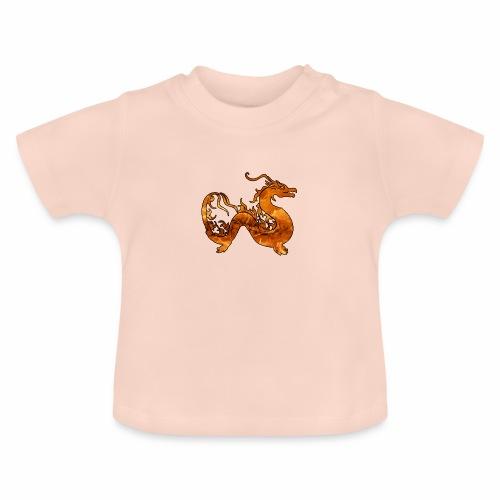 Le Dragon du Feu -J'peux pas j'ai un Dragon du Feu - T-shirt Bébé