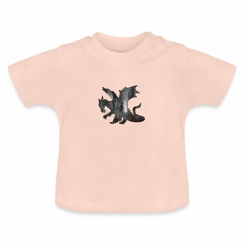 Le Dragon destructeur - J'peux pas j'ai Dragon - T-shirt Bébé