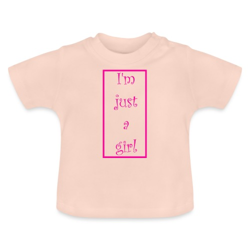 I' m just a girl #1 - Baby T-Shirt