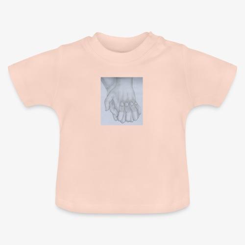 main dans la main - T-shirt Bébé