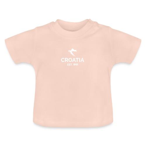 CROATIA EST.1991 2.0 - Baby T-Shirt