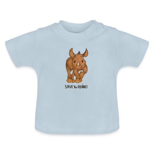 Save the Rhino - Baby T-Shirt