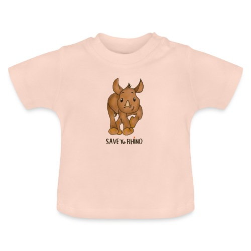 Save the Rhino - Baby T-Shirt
