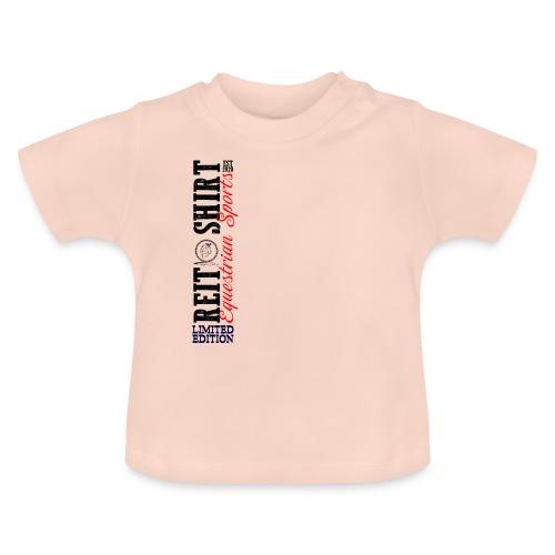ReitShirt Limited Edition Pferde Reiten - Baby T-Shirt