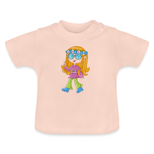 Hippie Girl - Baby T-Shirt