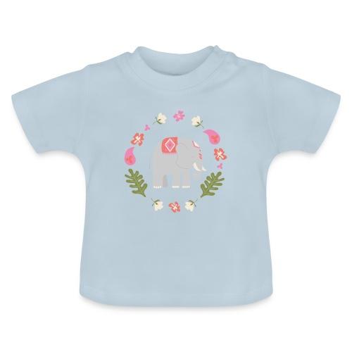 Indian elephant - Maglietta per neonato