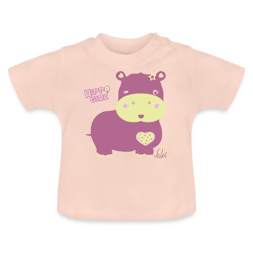 hippo baby girl - Camiseta bebé