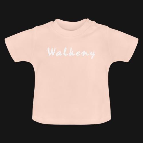 Walkeny Schriftzug in weiß! - Baby T-Shirt