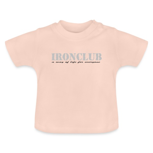 IRONCLUB - a way of life for everyone - Baby-T-skjorte