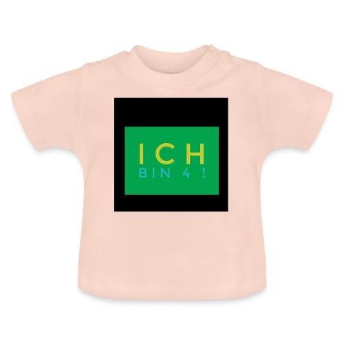 IMG 0270 Ich bin 4 - Baby T-Shirt