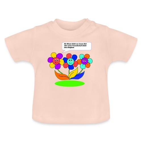 Blumen Freundschaft - Baby T-Shirt