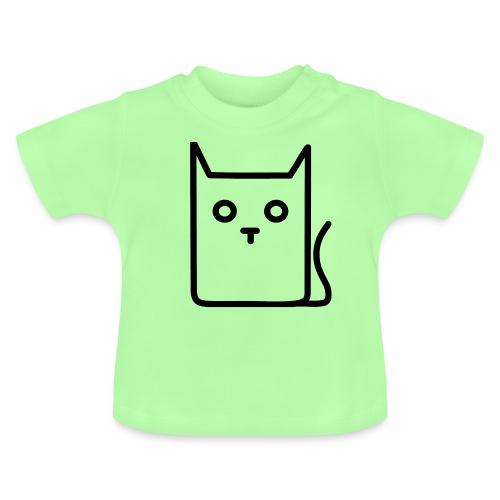 Katze Schwarz - Baby T-Shirt