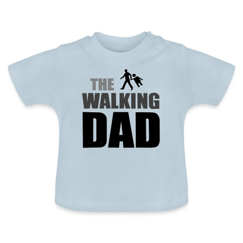 the walking dad auf dem Weg in die lustige Bar - Baby T-Shirt