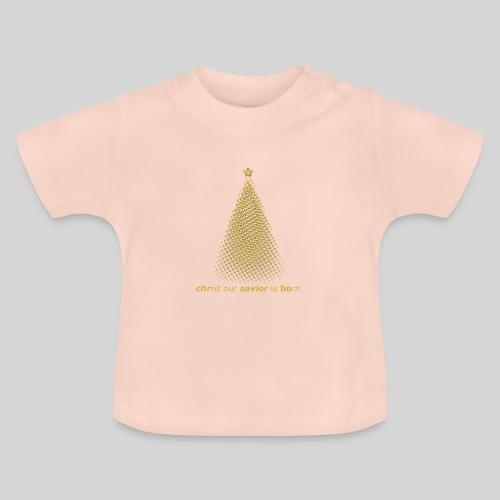 Christus Jesus unser Erretter ist geboren - Baby T-Shirt