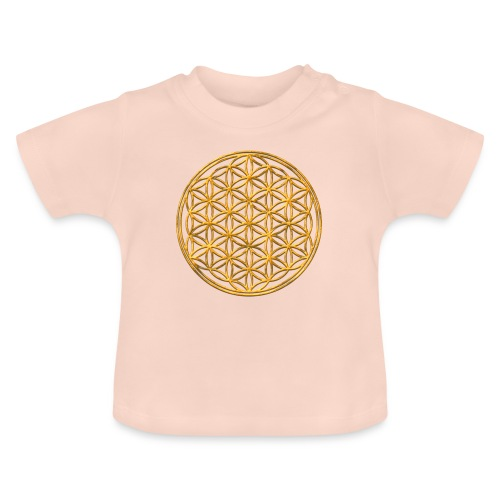 Flower of life GOLD 2 - Baby T-shirt