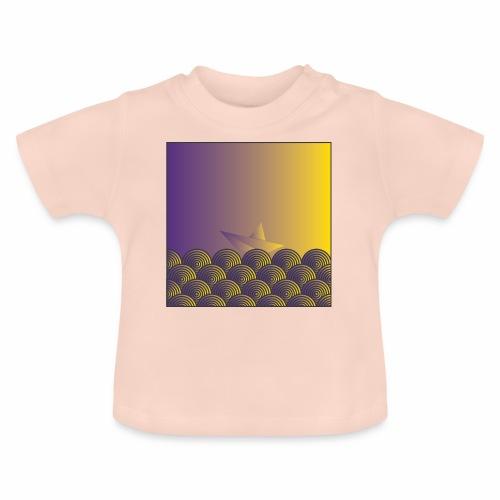 Pattern boat - Baby T-Shirt