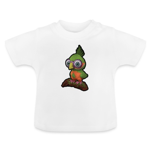 A bird sitting on a branch - Baby T-Shirt