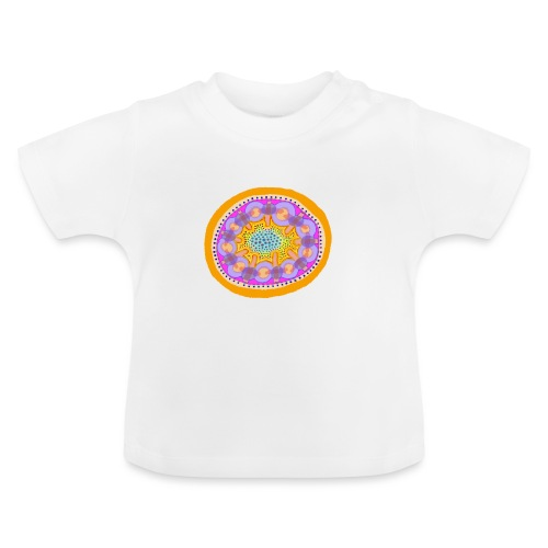 Mandala Pizza - Baby T-Shirt