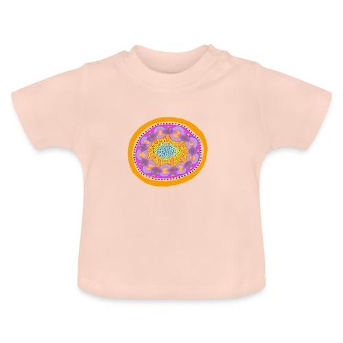 Mandala Pizza - Baby T-Shirt
