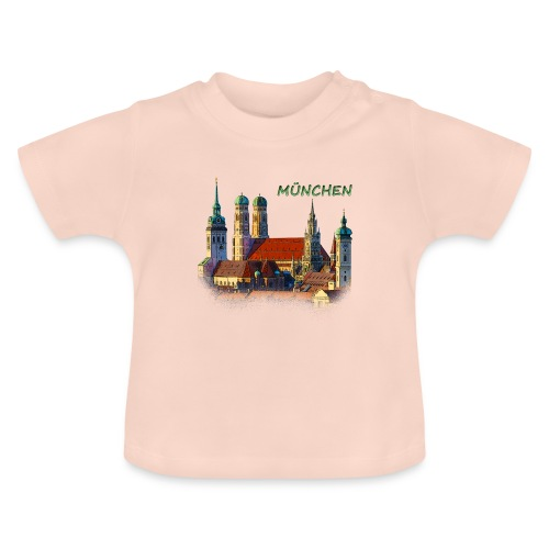 München Frauenkirche - Baby T-Shirt