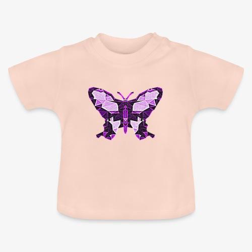 Fioletowy motyl - Koszulka niemowlęca
