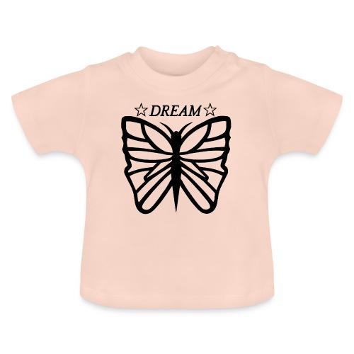 Ett motiv föreställandes en fjäril. - Baby-T-shirt