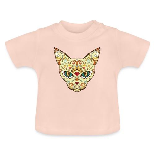 Skull Cat - Maglietta per neonato