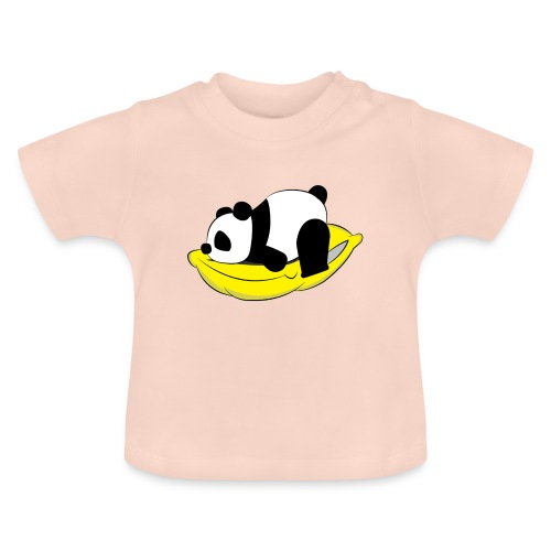 Panda Sleeping / Panda durmiendo - Camiseta bebé