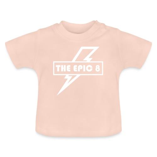 The Epic 8 - Valkoinen logo, iso - Vauvan t-paita