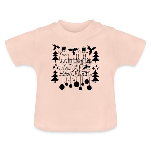Weihnachtsglitzern - Baby T-Shirt