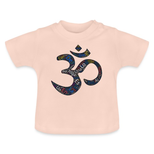 YOGA SIMBOLO - TEXTOS EN INTERIOR - Camiseta bebé