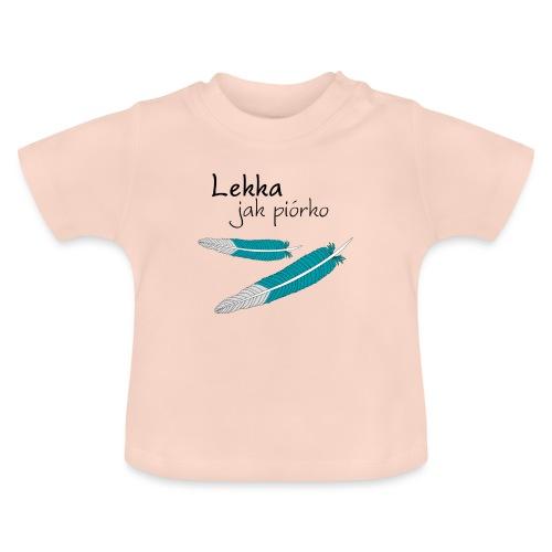 Lekka jak piórko - Koszulka niemowlęca