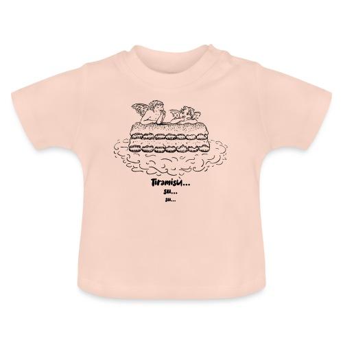 Tiramisù - tinte chiare - Maglietta per neonato