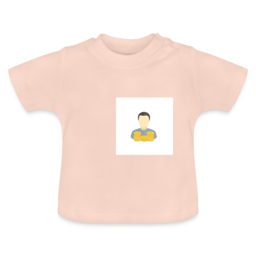 Argent - T-shirt Bébé