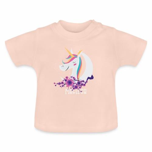 Magisches Einhorn - Baby T-Shirt